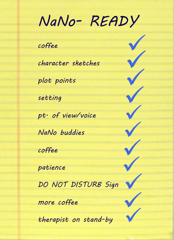 Nano checklist 2013 copy
